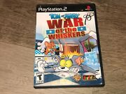 Tom And Jerry In War Of The Whiskers Playstation 2 Ps2 W/case Authentic
