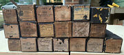 Lot Of 19 Vintage Antique Player Piano Rolls Mixed Brands
