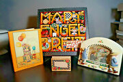 Mary Engelbreit Lot Of 5 Stamp Picture Frame Book