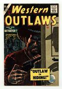 Western Outlaws 19 Vg 4.0 1957