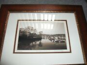 Vintage Numbered Listed Artist Signed Photo Cold Spring Harbor Long Island Ny