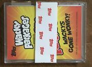 2021 Topps Wacky Packages Monthly Complete Master Set Coupon Wonky Playing Cd