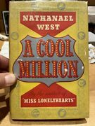 A Cool Million The Dismantling Of Lemuel Pitkin 1st Edition Nathanael West
