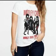 Chaser Motley Crue World Tour Band Tee S Nwt