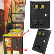 American Style Dual Coin Selector Door With Needle Microswitch For Arcade Jamma