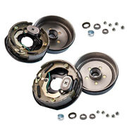 Trailer 5 On 4.5 Hub Drums Bearing Kit 10x2-1/4 Electric Brakes For 3500 Lbs