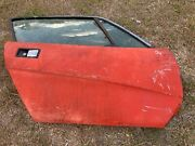 Triumph Tr7 Right Coupe Door Tinted Glass From Florida Car In Storage 30 Years