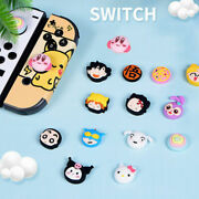 Cartoon Anime Silicone Paw Cover Caps - Nintendo Switch Lite Thumb Grips Cute