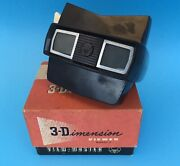 Vintage View Master 1950s 3-d Model E And 4 Sets Of Reels 3 Reels In Each Set