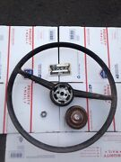 1952-53 Ford Mainline V 8 Coupe 18 Steering Wheel With Center Horn