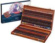 Derwent Pastel Pencils Set Of 72 In Wooden Gift Box, Professional Quality, Rich.