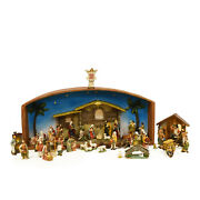 Northlight 52-piece Religious Christmas Nativity Village Set With Holy Family