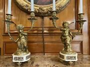 Antique French Candelabra Late 19th Century ⭐️on Sale ⭐️from 1750 To 1450⭐️