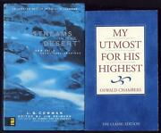 Lot 2 Classic Devotionals Streams In The Desert And My Utmost For His Highest