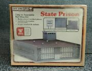 Life Like State Prison Building Kit N Scale Train No. 7460 Sealed Kit