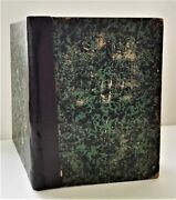 1844-47 Antique The Lutheraner Religious German Bound Newspapers Lutheran Bible
