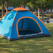 Single Layer 2 People Double Door Automatic Travel Tent Camping Outdoor Supplies