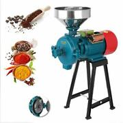 Wetanddry Electric Grinder Mill Corn Grain 2200w 110v Wheat Feed/flour Cereals Us