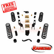 Rancho Suspension Lift Kit For 2007-2014 Jeep Wrangler Unlimited Sahara 4wd