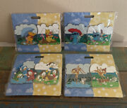 Disney Wdi April Showers Brings May Flowers Le 250 Pins Set Bambi/stitch/pooh