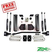 Zone Offroad 4 Lift Kit For Ford F250/f350 2008-2010 4wd Diesel