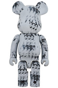 Be@rbrick Bearbrick Andy Warholand039s Elvis Presley 1000 Limited Editi. From Japan