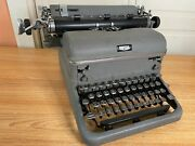 1950 Rare Royal Kmg All Caps Font Typewriter Working W New Ink