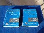 1997 Chevy S-10 Series Pickup Truck Factory Shop Manuals Set