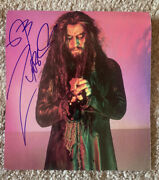 Rob Zombie Rare Full Name Signed Autographed 8x11 Magazine Photo Bas Certified 2