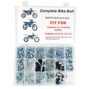 Aftermarket Fit For Yamaha Yz80 Yz85 Yz125 250 Plastic Engine Frame Fender Bolts