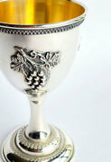 Collectible 925 Sterling Silver Kiddush Cup By Ben-zion Holy Traditional Judaism