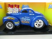 Muscle Machines - Da Rat Killer Fuel Injected 1941 And03941 Willys Gasser Coupe 1/18