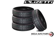 4 New Lizetti Lz-es1 185/65r14 86h Extra Value All Season Performance Tires