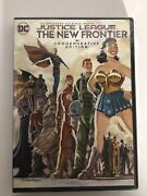 Dc Universe Justice League The New Frontier Commemorative Editiondvd, 2017 New