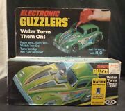 Vintage 1980 Electronic Guzzlers Green Vw Beetle Mib By Ideal Toys Very Rare