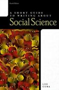 Short Guide To Writing About Social Science Mint Cuba Lee J. Pearson Education U