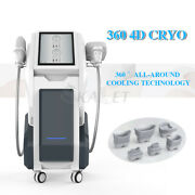 Cold Freeze 2 Handle Slimming Machine Cooling System Fat Sculpting Body Shaping