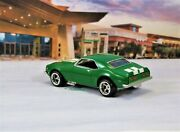 Hot Wheels 1968 68 Chevy Camaro Z/28 Real Rider 1/64 Scale Limited Edition Green