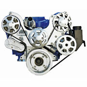 Eddie Motorsports Ms107-63cl S-drive Complete Serpentine Pulley Drive System Sma
