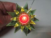 1930s C-6 Double Matchless Star Light - Green Green Red - 700 Size