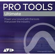 Avid Pro Tools Ultimate License Trade Up From Pro Tools Edelivery