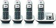 4-handset Cordless Phone With Answering Machine
