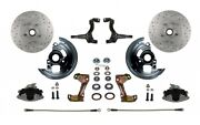 Leed Brakes Fc1003l6b4xa Gm A/f/x-body Front Disc Brake Conversion Kit W/2 In.