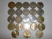 """- India - 23  Rs. 5/- """" Old And New Coins - Bigandheavy- 4 Designs -1992-2017 21l"""