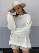 Egoist Color Scheme Hand Stitch Knit One Size Fits All, From Japan