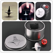 Quality Inception Totem Accurate Spinning Top Zinc Alloy Silver Vintagcaca