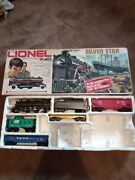 Lionel Silver Star 0-27 Gauge Train Set Does No Include Track In Very Nice Shape