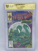 Amazing Spider-man 311 Signed By Todd Mcfarlane Ss 9.8 Cbcs Mysterio Cover Gold