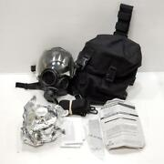 Msa Millennium Cbrn Riot Control 40mm Canister Large Gas Mask W/ Carrying Bag