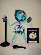 Monster High Honey Swamp - Frights Camera Action. Another Complete And Mint Set